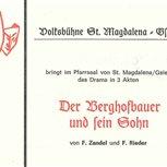 1982 - Der Berghofbauer und sein Sohn
