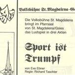 1988 - Sport ist Trumpf