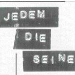 2001 - Jedem die Seine