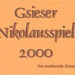 2000 - Gsieser Nikolausspiel